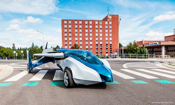 Protótipo de carro voador faz primeiro voo com sucesso