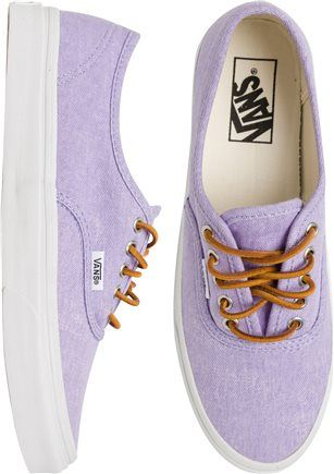 THE best purple shoe.  http://www.swell.com/New-Arrivals-Womens/VANS-AUTHENTIC-SLIM-SHOE-9?cs=MU