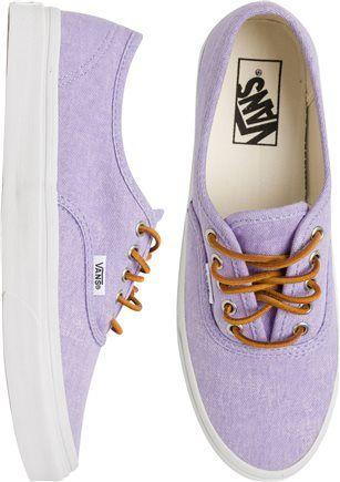 THE best purple shoe.  http://www.swell.com/New-Arrivals-Womens/VANS-AUTHENTIC-SLIM-SHOE-9?cs=MU