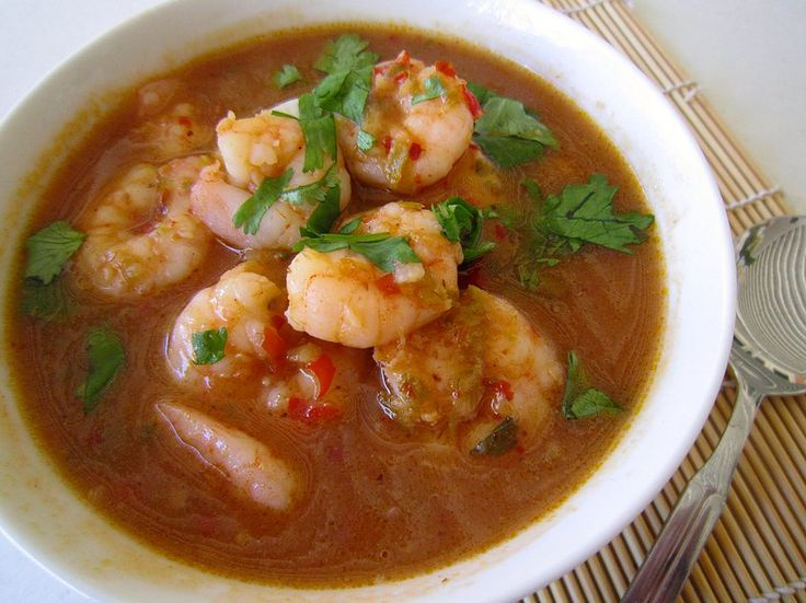 thermoliciousapp | Singapore Chilli Prawn Soup