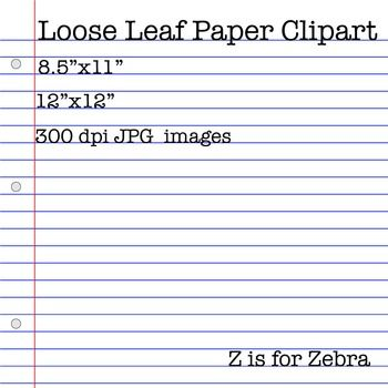 178 best Clip Art images on Pinterest Fonts, Free clipart for - print loose leaf paper