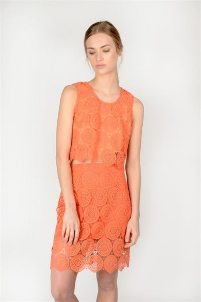 Sandi Top  http://relatedapparel.com/Sandi-Top.aspx  #relatedapparel #spring #summer #myrelated #fashion #related #orange #trend