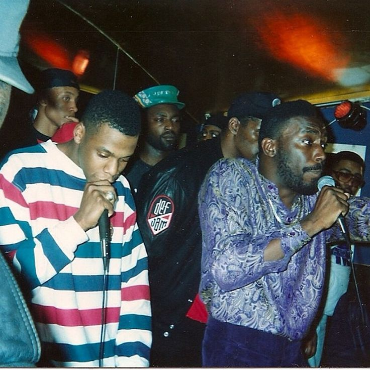BIG DADDY KANE,JUST ICE and a real young Jay Z