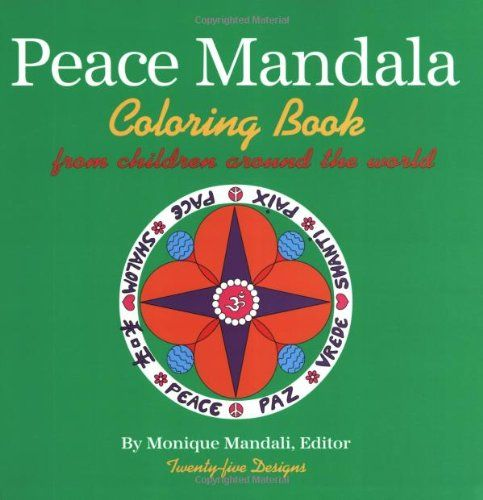 peace mandala coloring book by monique mandalihttpwwwamazon