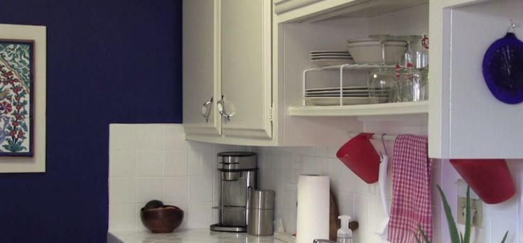 Just Because You're Renting Doesn't Mean You Can't Customize Your Kitchen. Check Out These Easy to Install (and Uninstall) Tricks