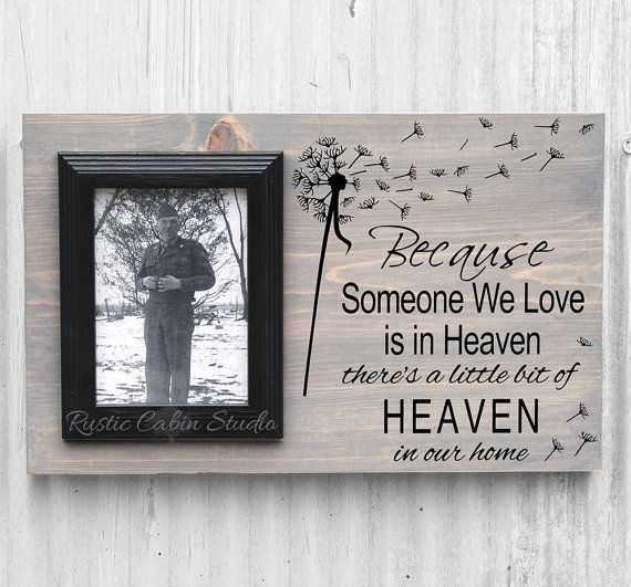 Because Someone We Love is in Heaven Rustic by RusticCabinStudio