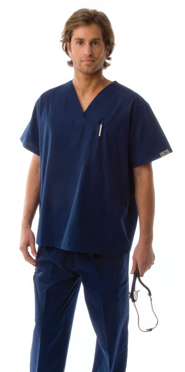 Men S Lightweight 6 Pocket Classic Uniform Scrubs Travel