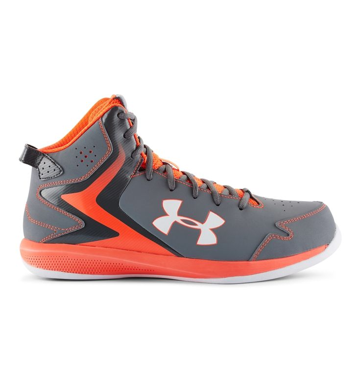 Under Armour - Men's UA Lockdown Basketball Shoes Charcoal (019) - Basketball Shoes - US 13.5