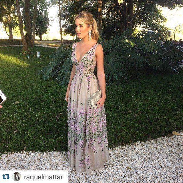 Raquel Mattar de Faria - Dress: Vivaz