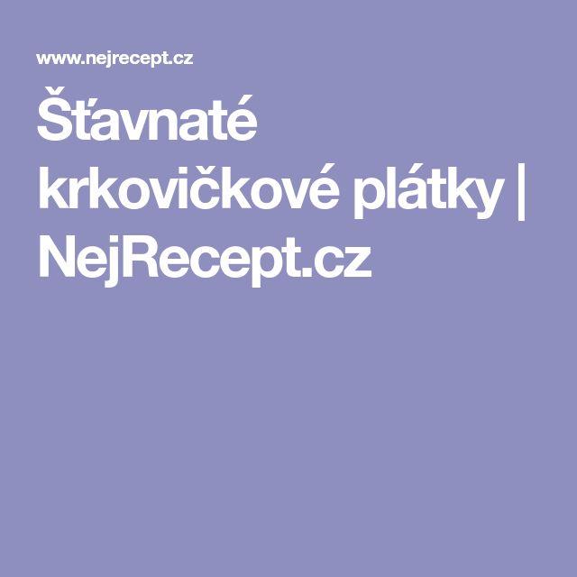 Šťavnaté krkovičkové plátky | NejRecept.cz