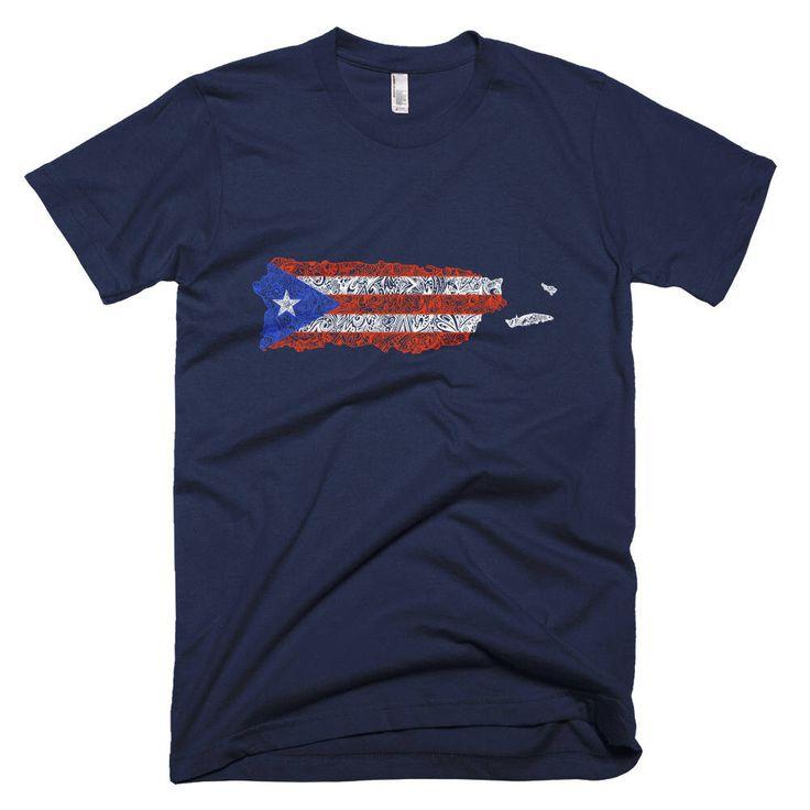Puerto Rico Shirt, Puerto Rican t-shirt, Puerto Rico flag shirt, Puerto Rico map shirt, Boricua Gift, Puerto Rico Gift, Puerto Rico T-Shirt