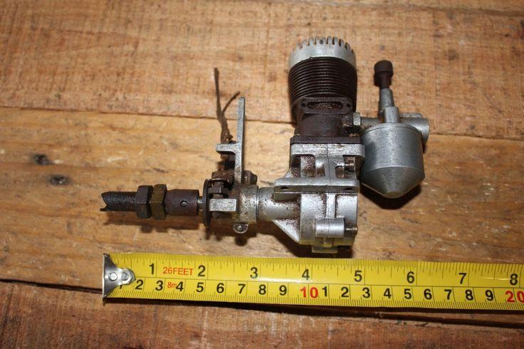 Vintage Antique Model Whirlwind Spark Ignition Engine Tether Car Plane