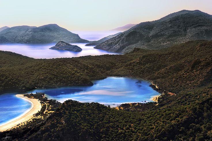 Blue Lagoon. Oludeniz. Turkey