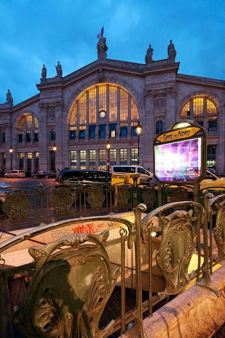 37 best paris gare du nord images on pinterest train for Gare du nord paris