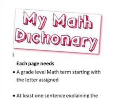 math dictionary az with meaning