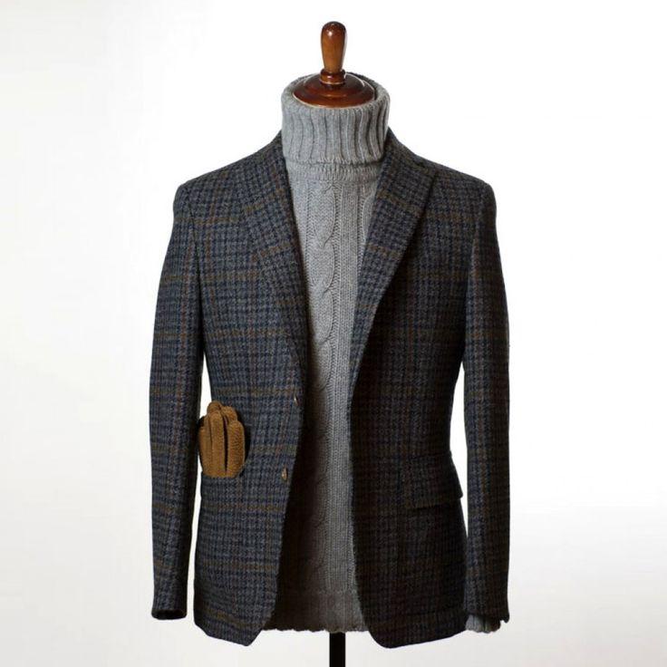 "gentlementools: ""Cantarelli harris tweed """