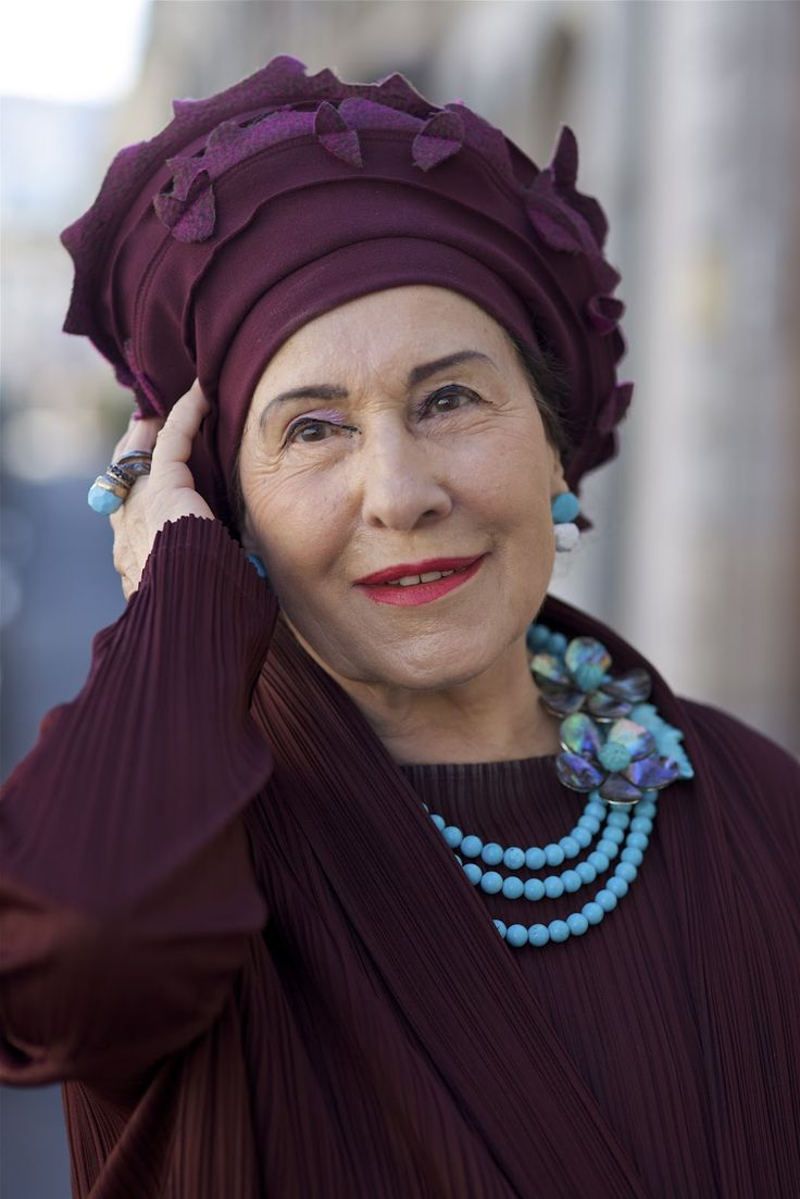 ADVANCED STYLE: Lady Marguerite in Geneva