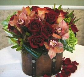 Chocolate rose chest