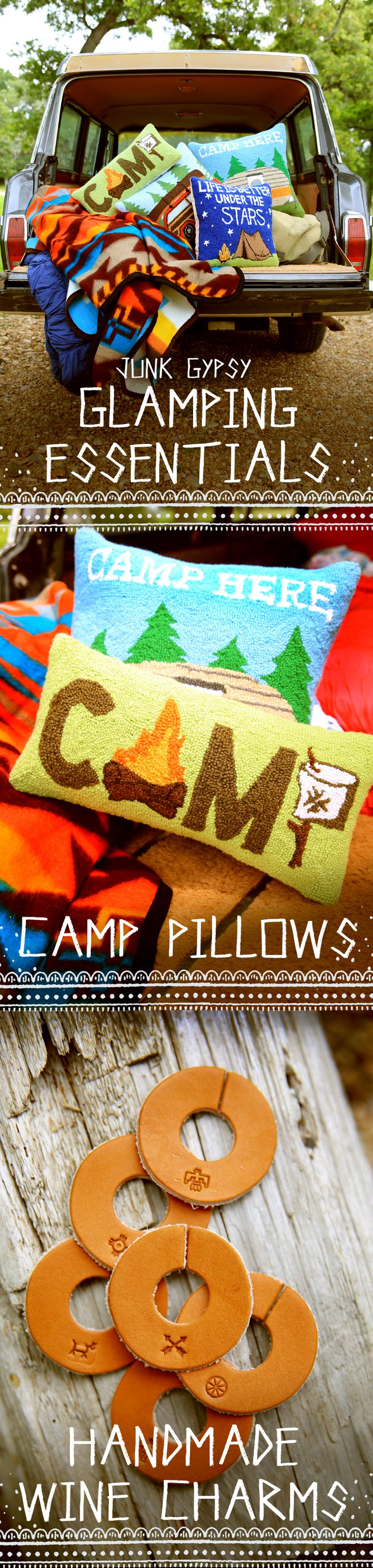junk gypsy glamping essentials // glamp, camp, and wander in style! {junk gypsy co}