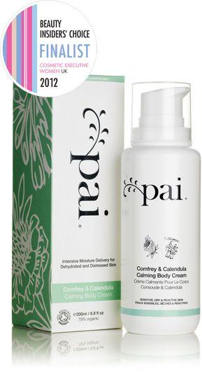 Pai Comfrey & Calendula Calming Organic Body Cream