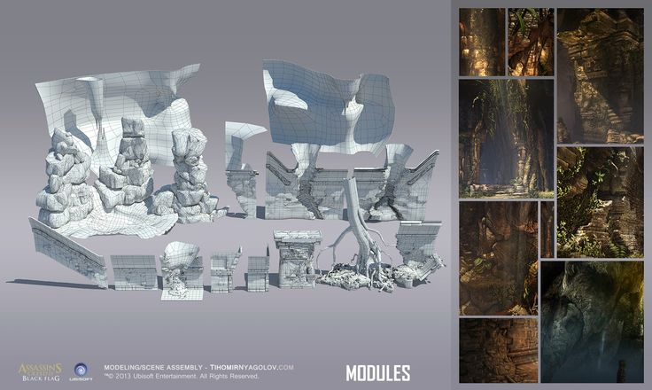 Assassin's Creed ® 4 Black Flag and AC3 Liberation ArtWork by Tihomir Nyagolov - Polycount Forum