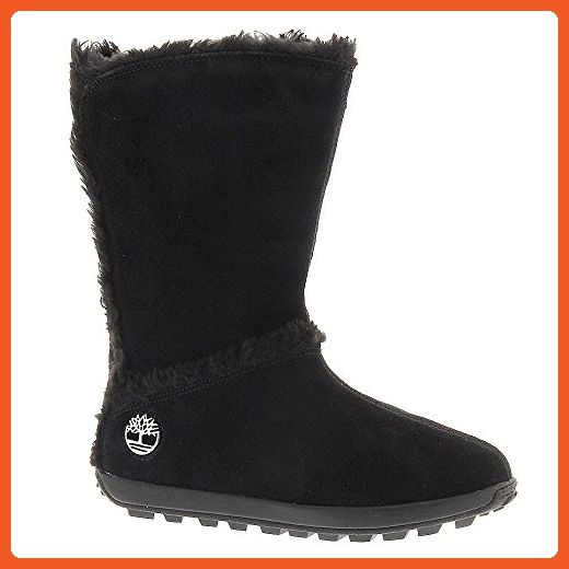 """Timberland Women's Mukluk 10"""" 9 B(M) US Black-Suede - Boots for women (*Amazon Partner-Link)"""
