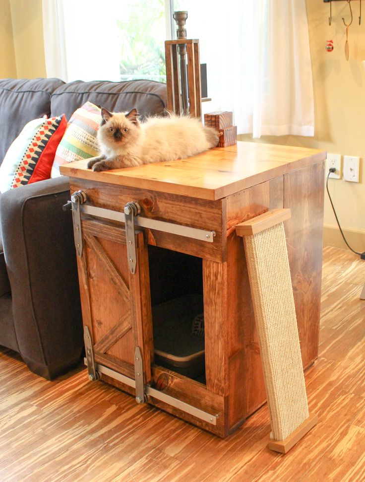 The 25 Best Rustic Cat Furniture Ideas On Pinterest