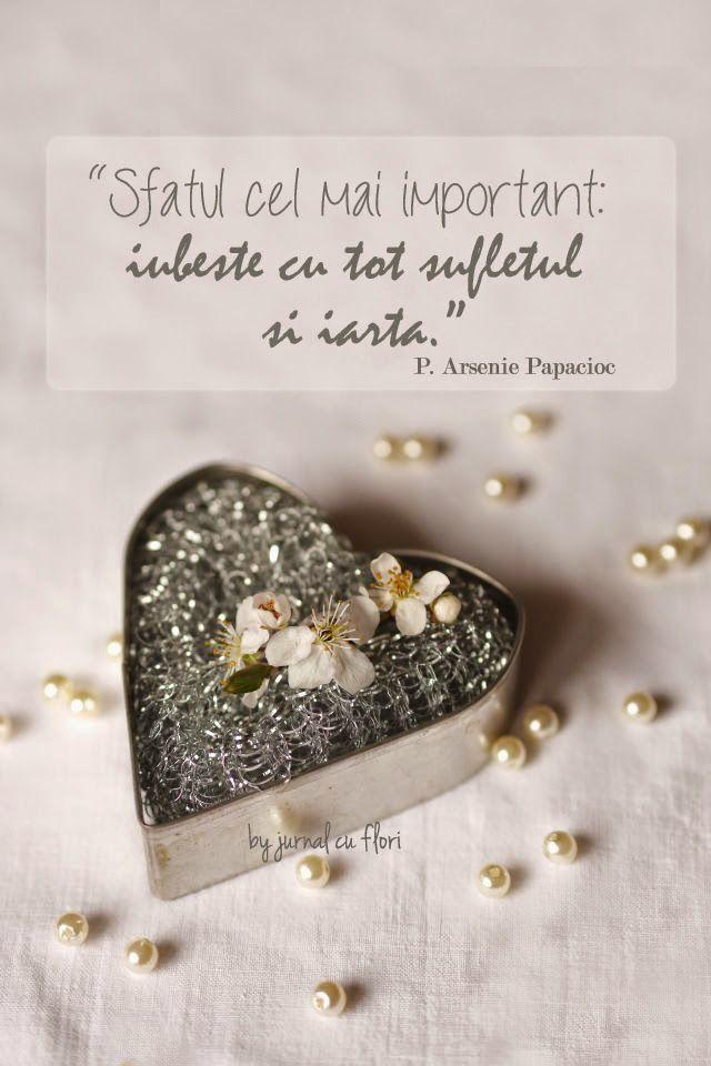 dragoste citat arsenie papacioc iubire iertare casatorie suflet sfat apple blossom arrangements heart pearls