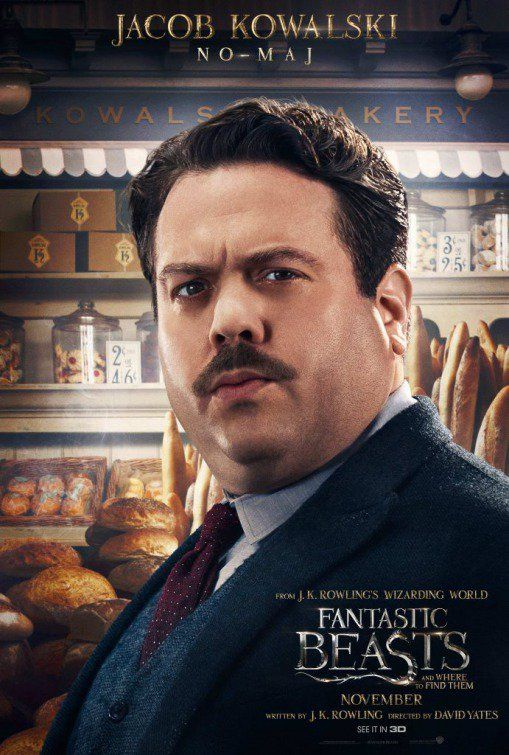Official Fantastic Beasts character posters!!