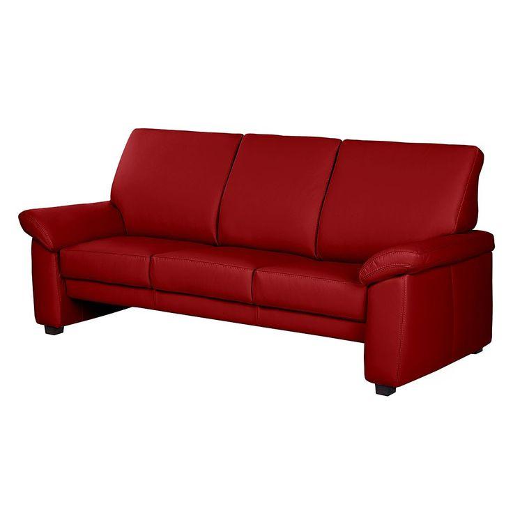 Sofa Grimsby 3 Sitzer Echtleder