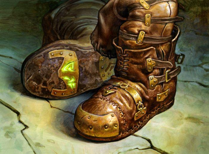 Trailblazer's Boots by Zoltan Boros & Gabor Szikszai