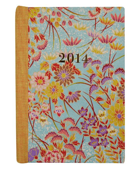 Small Floral Garden 2014 Diary