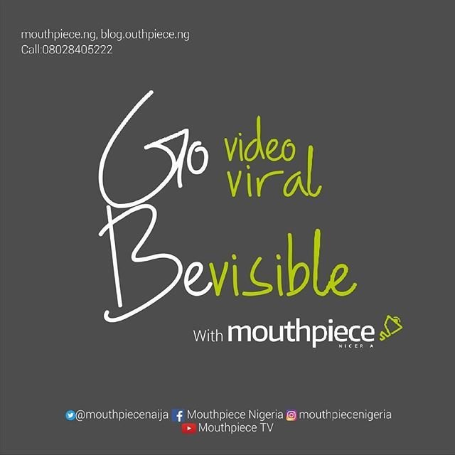 Reposting @mouthpiecenigeria: This is what we do at Mouthpiece Nigeria, the video magic.  #businesswoman #businessoportunity #entrepreneur #fashionblogger #beautiful #photooftheday #tbt #happynewyear2018 #art #friends #fun #food #life #instagram #lem #music #bestoftheday #make #design #instapic #lifestyle #instafood #workout #drawing #inspirationalquotes #mouthpiecenigeria #handmade #sunset