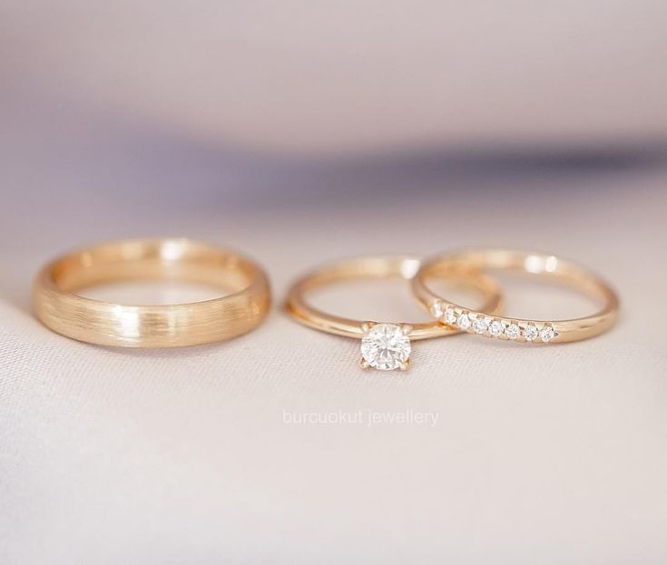 We houden van deze harmonie. Wedding Bands voor heren, Diamond Solitaire en Diamond Detailed …