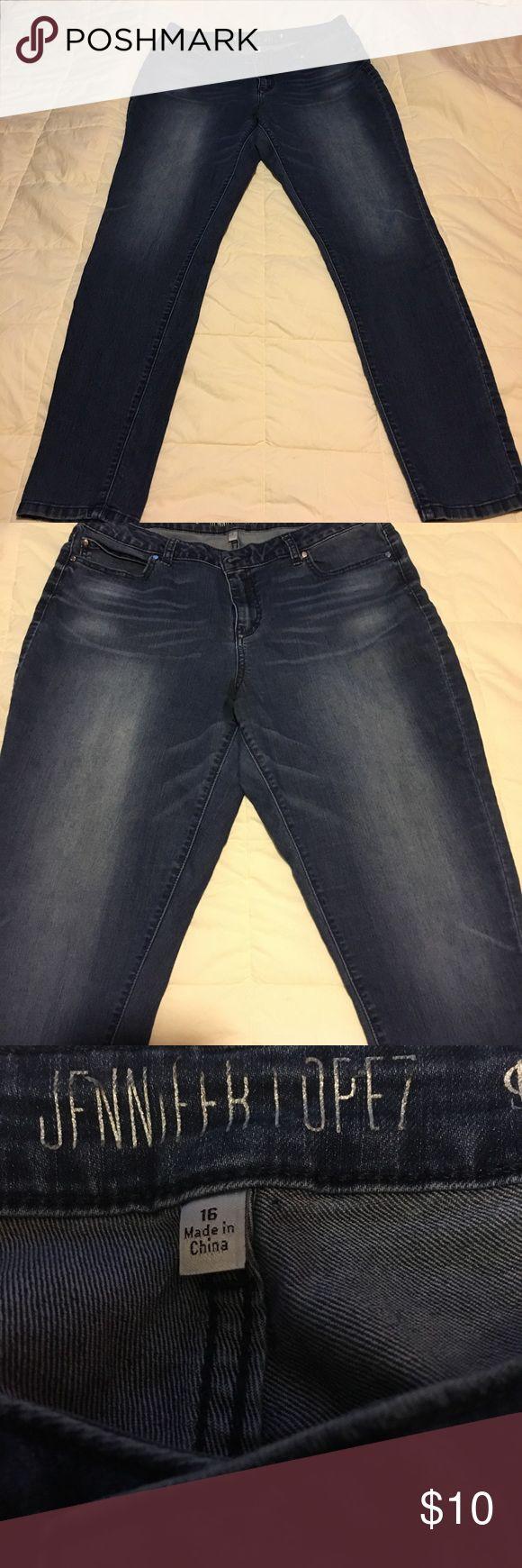Jennifer Lopez  skinny Jeans Size 16 skinny leg Jennifer Lopez Jeans Jennifer Lopez Jeans Skinny