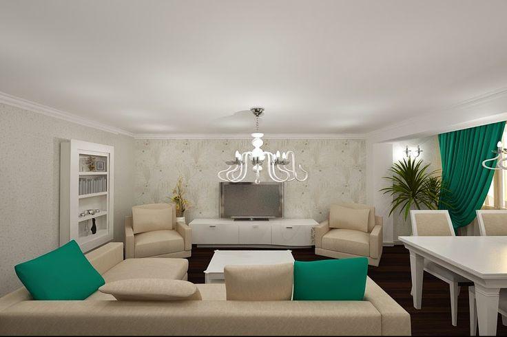 Firme in domeniul design interior,arhitectura de interior,amenajari interioare,articole,comunicate: Apartament superb amenajat in stilul modern