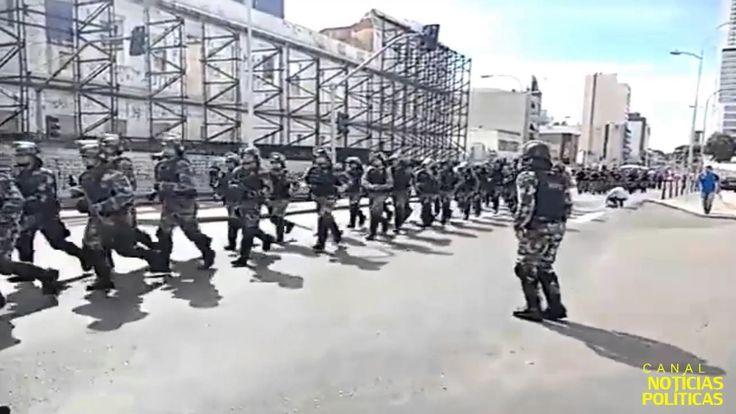 Polícia Militar de Curitiba dá boas vindas ao MST e CUT,  O que acharam?