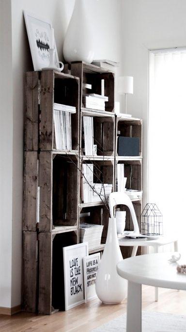 Möbel aus alten Holzpaletten und Obstkisten: Holzpaletten werden zum Couchtisch