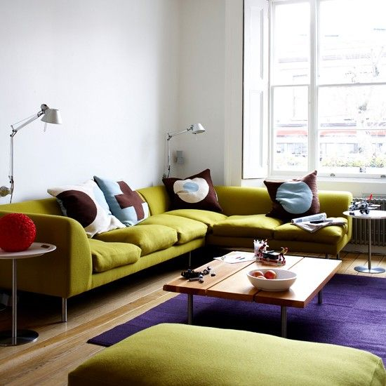 Take A Look Round This Cosy Victorian Terrace With Modern: 1000+ Images About L Shaped Sofa On Pinterest