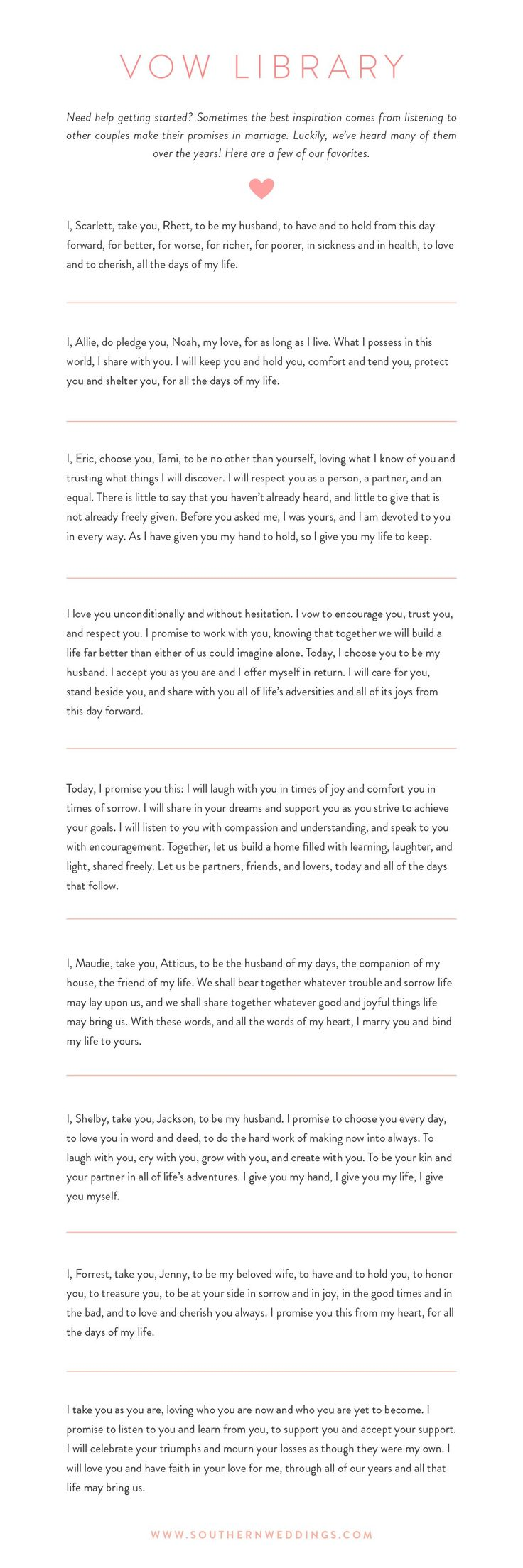 bride wedding vows 10 best photos - wedding vows - cuteweddingideas.com