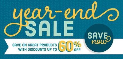 HUGE Year-End Clearance Sale Happening Now thru January 4, 2016!  130+ items at up to 60% off!  Order now from www.toocool.stampinup.net