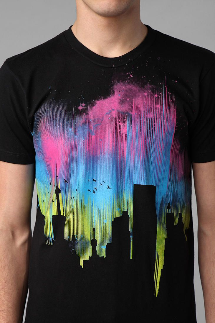 UrbanOutfitters.com > Collision Theory Skyline Tee
