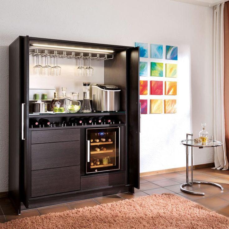 Mueble bar moderno de madera stage poggenpohl muebles - Mueble bar moderno ...