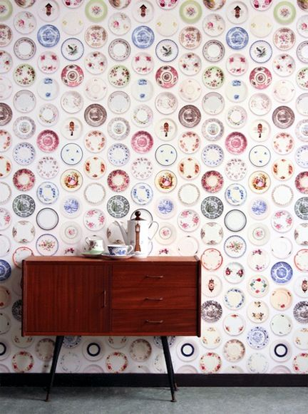 Best Walls And Paint Images On Pinterest Home Retro - Unusual wallpaper for walls