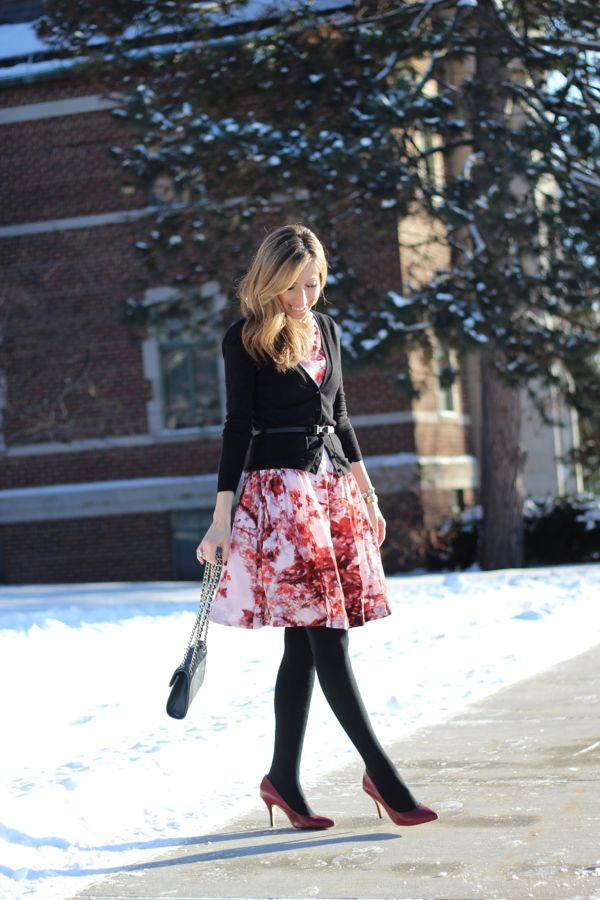 Lilly Style: cherry blossom dress