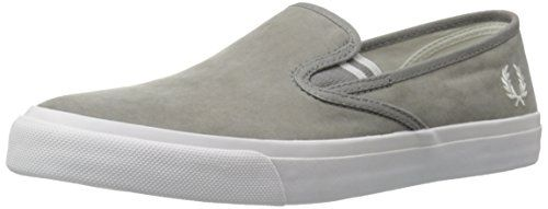Fred Perry Men's Turner Slip-On Brushed Cotton Fashion Sneaker | MyPointSaver