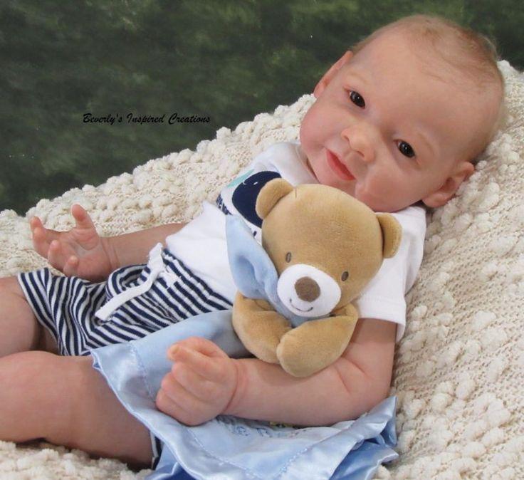 "GORGEOUS NEWBORN REBORN BABY BOY ""JAMES"" BY JORJA PIGOTT LIMITED EDITION"