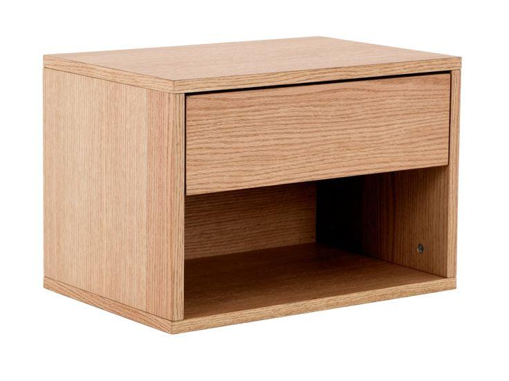 MONTEREY Nattbord 51 Eik i gruppen Innendørs / Senger / Nattbord hos Furniturebox (110-95-108845)
