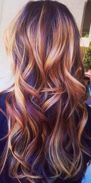 Best 25 Red Blonde Highlights Ideas On Pinterest