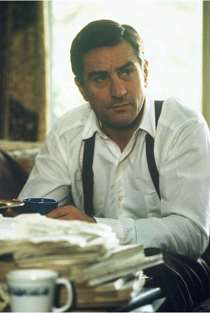 Robert De Niro. I would put anything he wanted in his coffee.     Sigh....